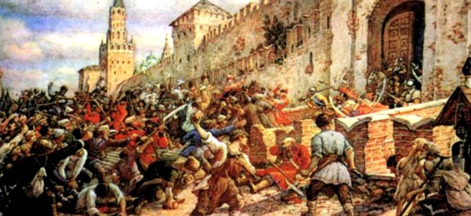 осада смоленска во время польской интервенции началась