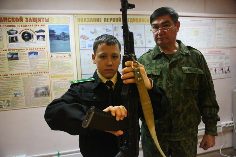 срочная служба в пограничных войсках