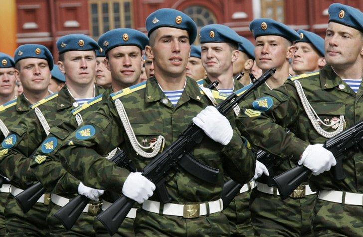 военные части вдв