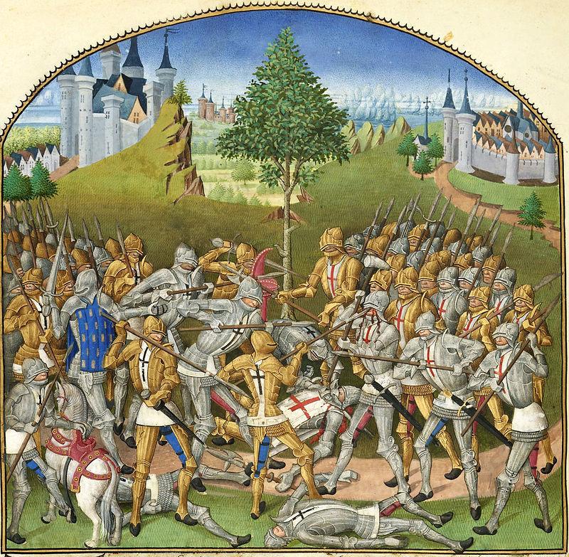 рыцарь 14 века