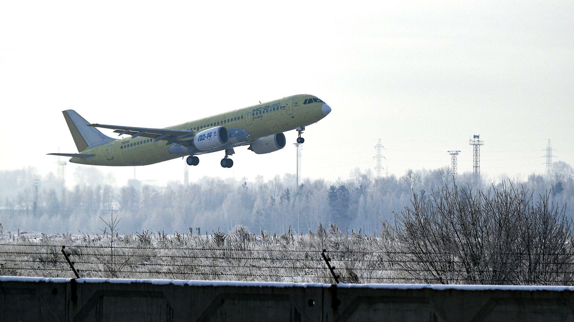 какие самолеты производят в россии