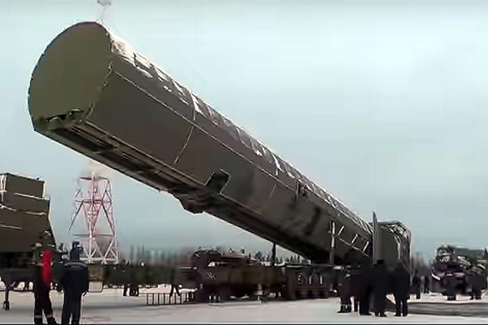 ядерный арсенал россии
