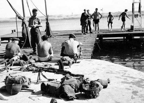суэцкий кризис 1956 г