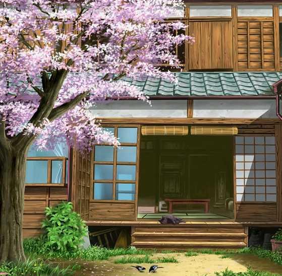 дома японии