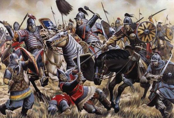 какое событие произошло в 1223 году