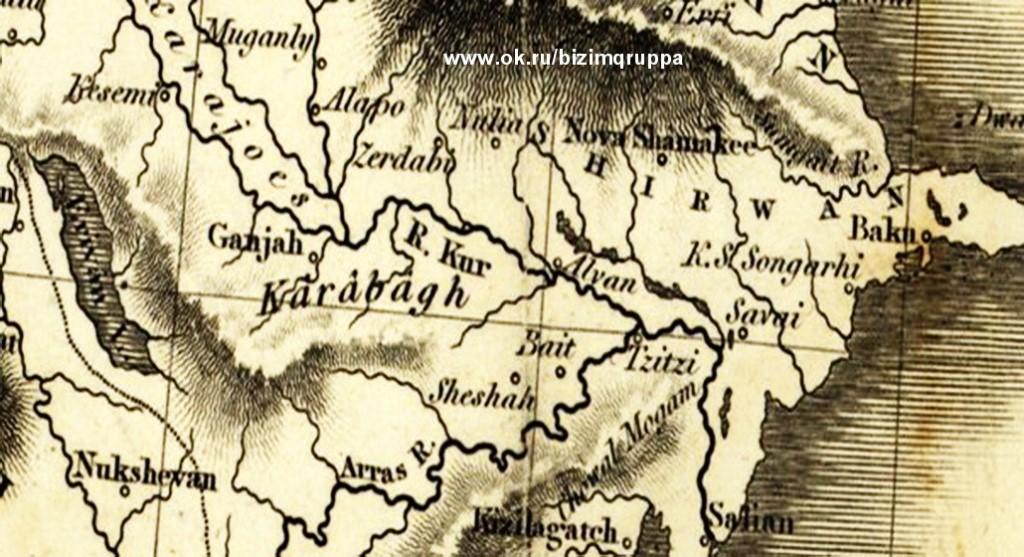 западная армения на карте