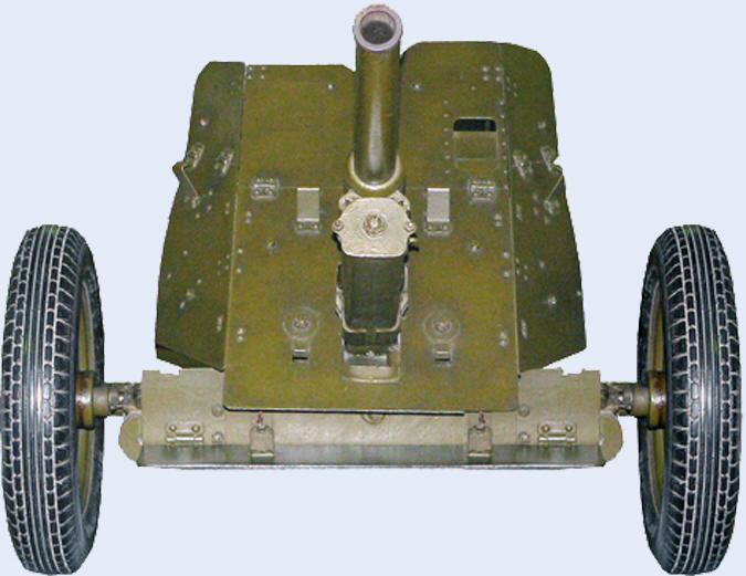 45 мм противотанковая пушка