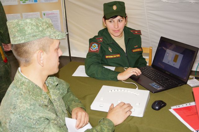 девушки в российской армии