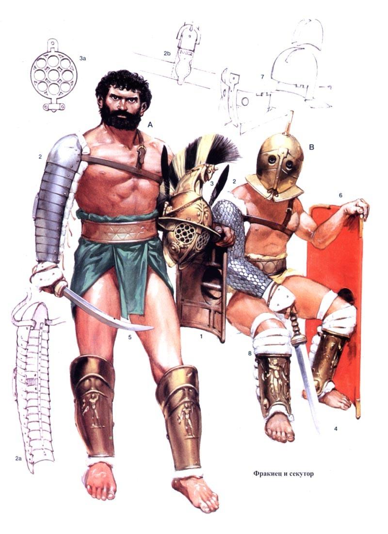 ганик гладиатор