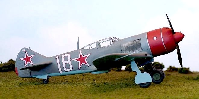 самолет ла 7