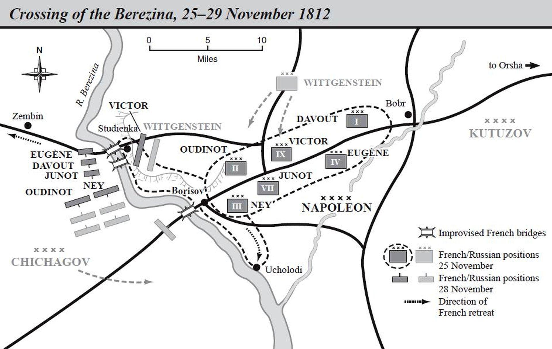 битва на реке березине 1812