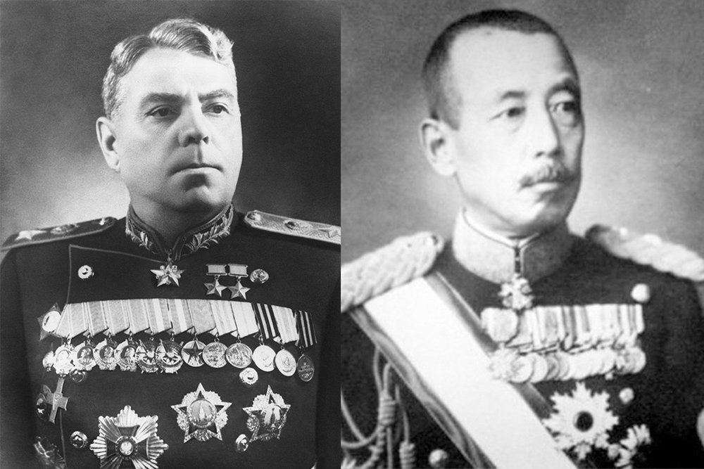 война с японией 1945