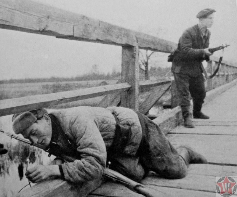 герои партизаны отечественной войны