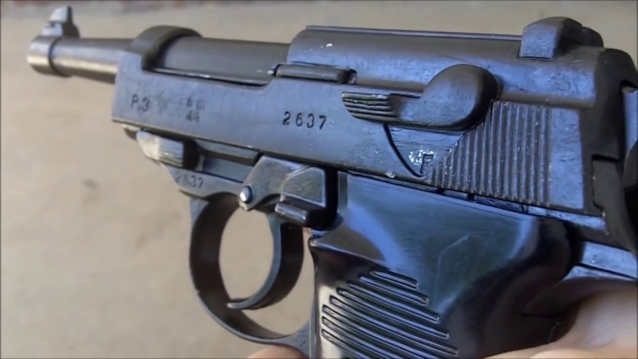 пистолет вальтер фото времен вов