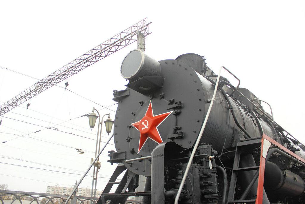 паровозы россии