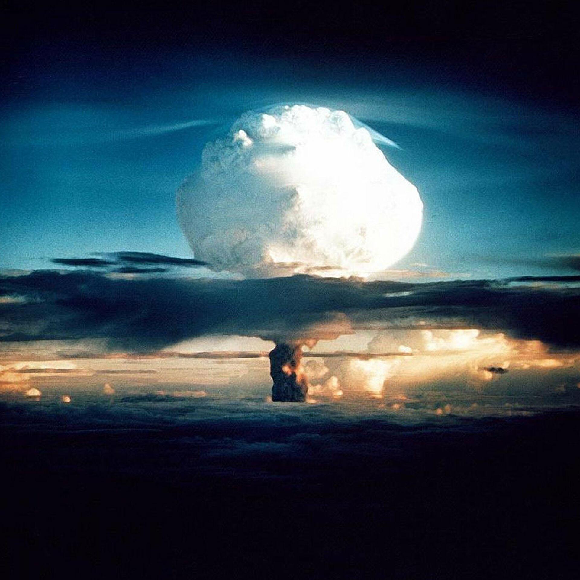 ядерный гриб фото