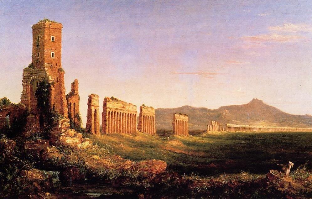 столица западной римской империи на карте