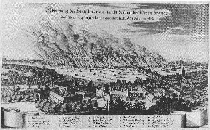 великий пожар в лондоне