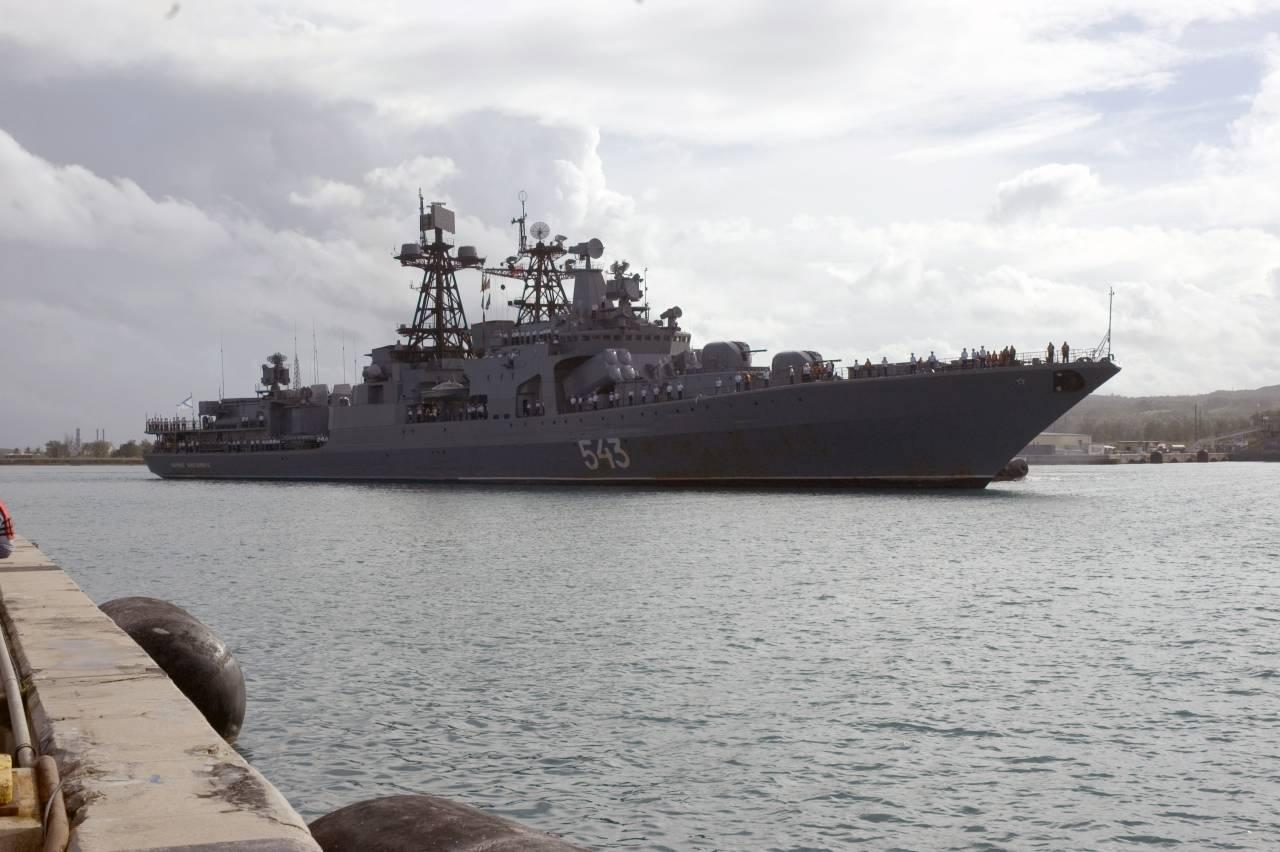 маршал шапошников большой противолодочный корабль