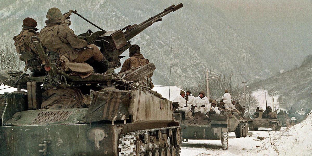 фото с чеченской войны