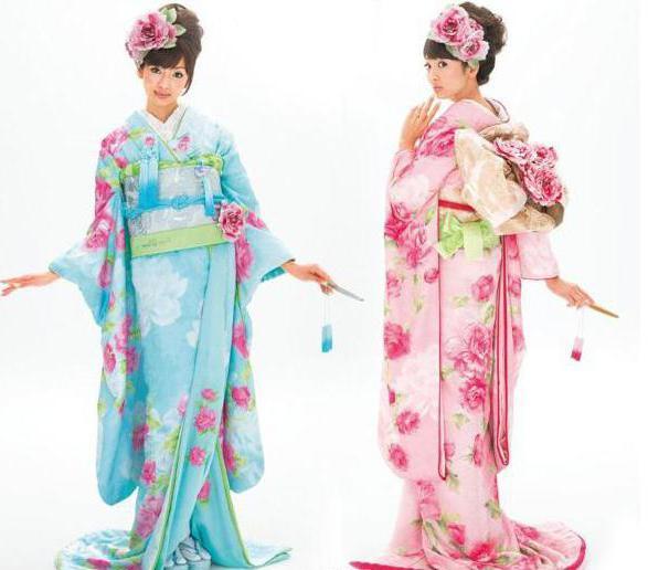 национальная одежда японцев