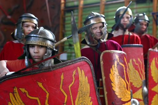древнеримский воин