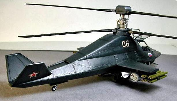 вертолет ка 58