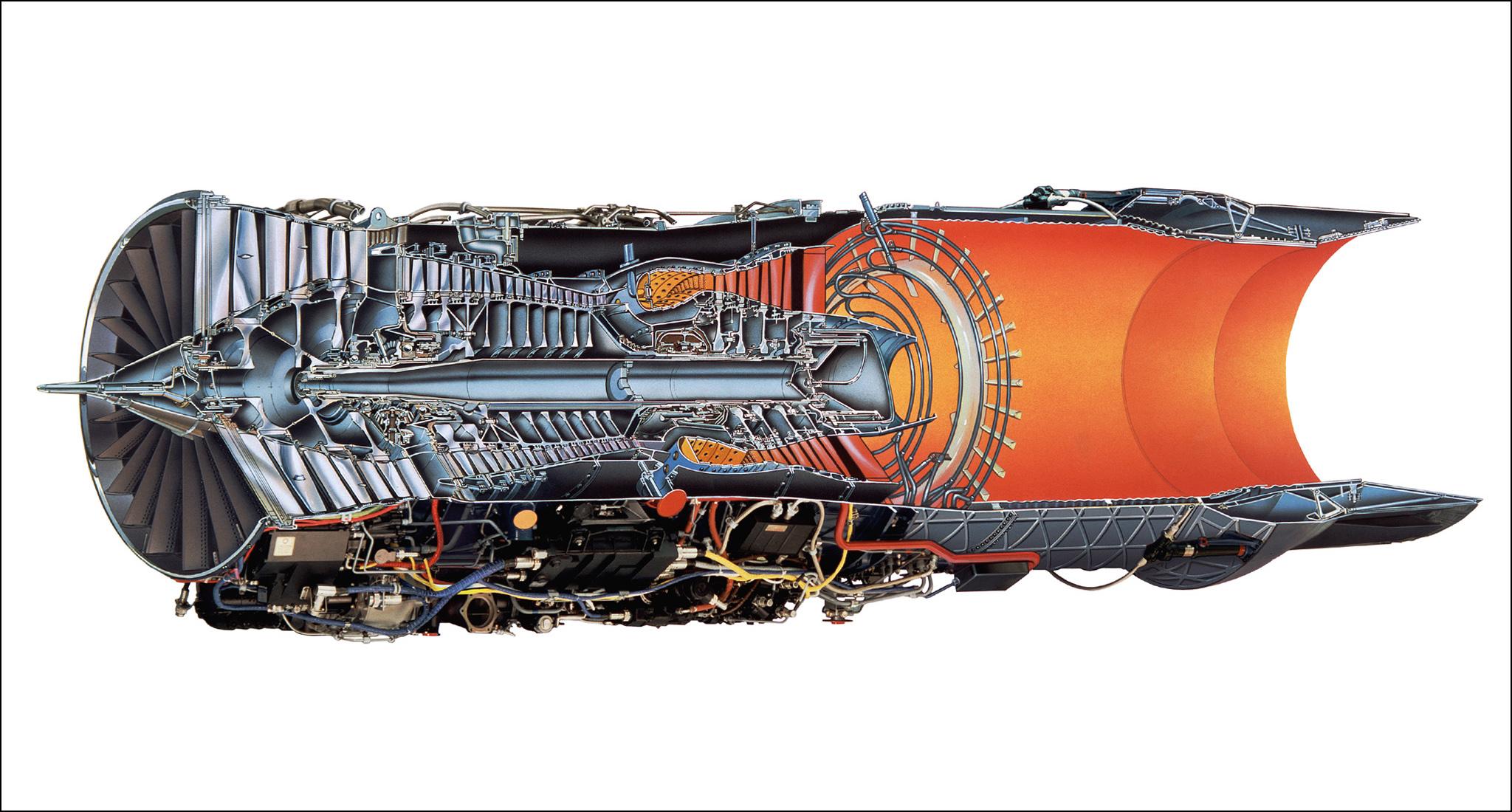 воздушно реактивный двигатель