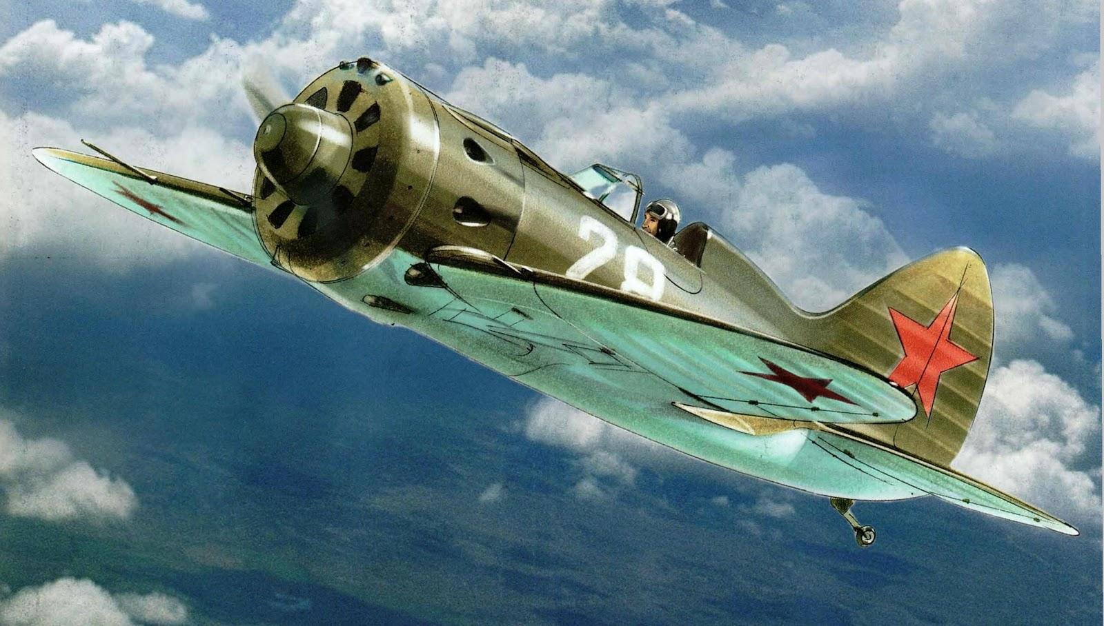 и 16 самолет