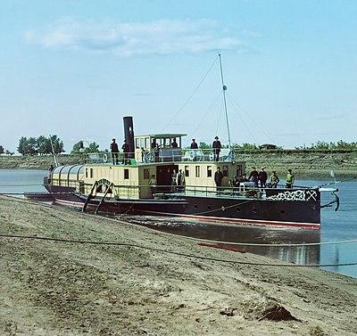 где был испытан первый пароход