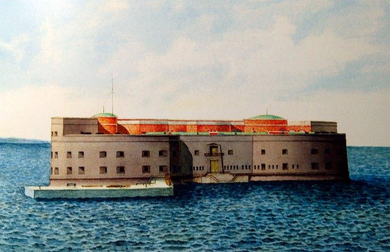форт александр 1 в кронштадте