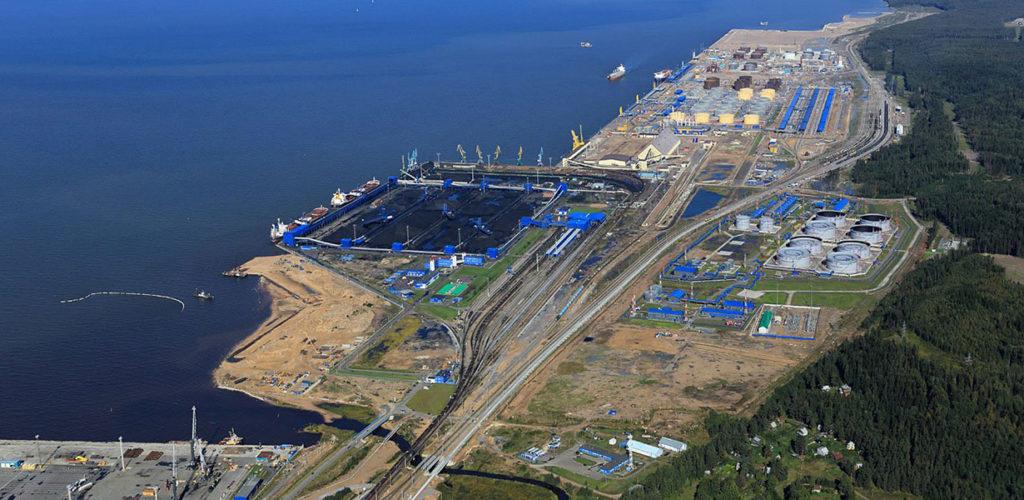 морской торговый порт усть луга