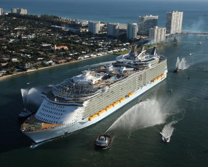 самые большие корабли в мире топ 10