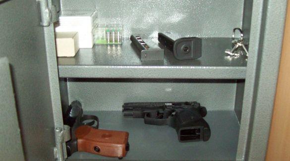 правила хранения огнестрельного оружия