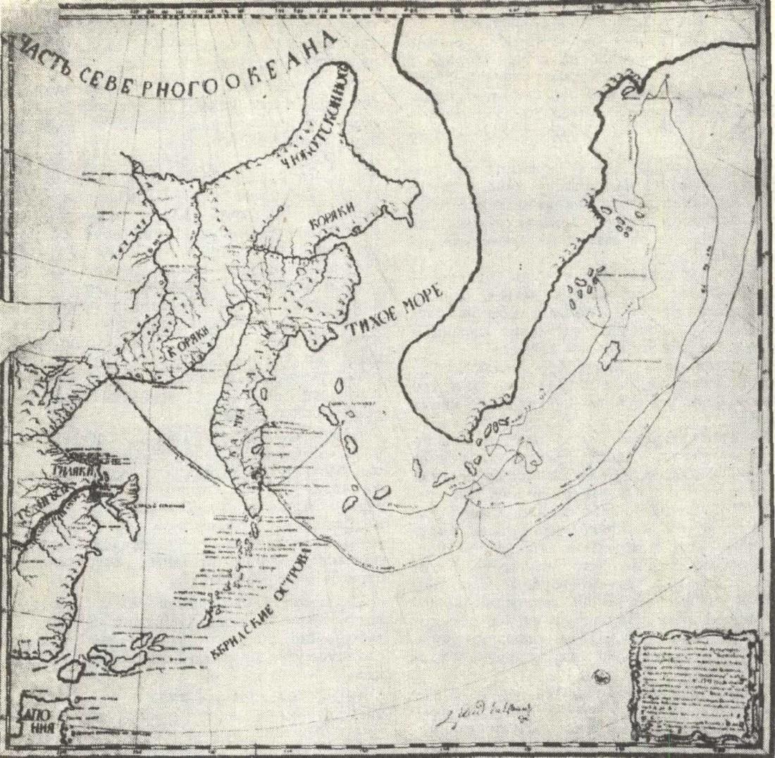 маршрут беринга на карте