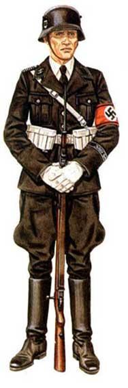 форма солдат вермахта