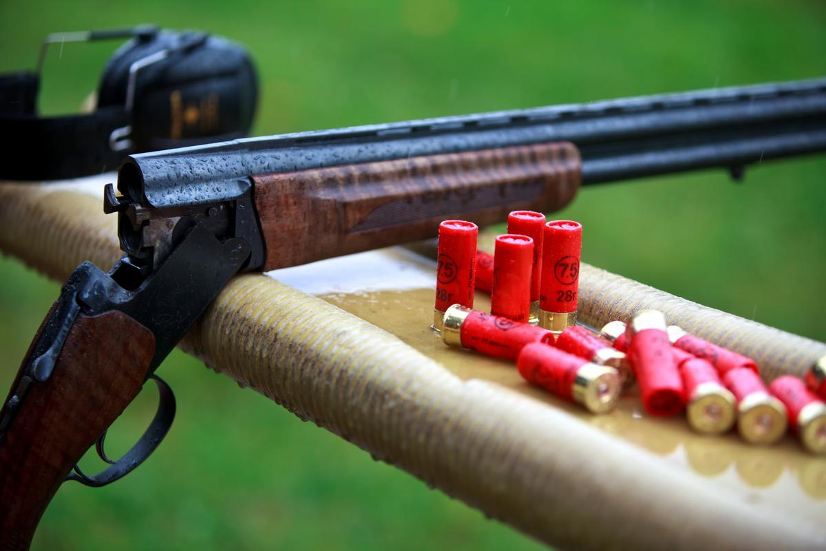 полуавтоматическое ружье