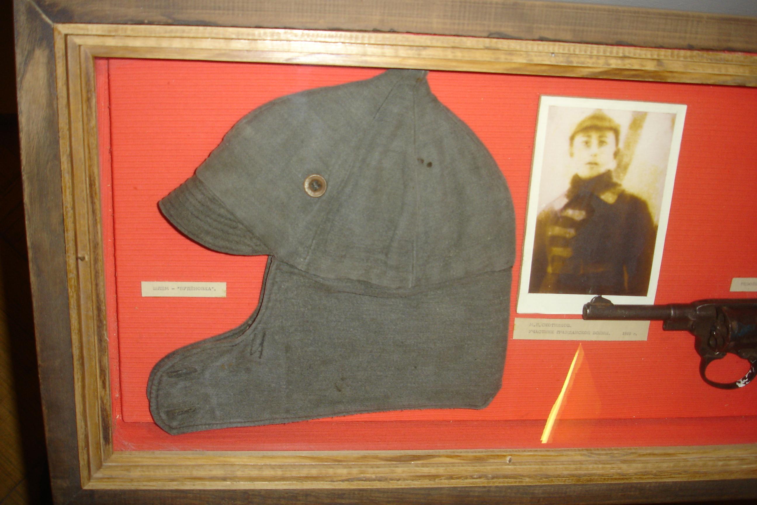 шапка красноармейца