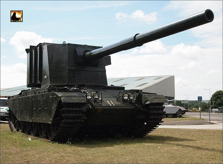 танк fv4005