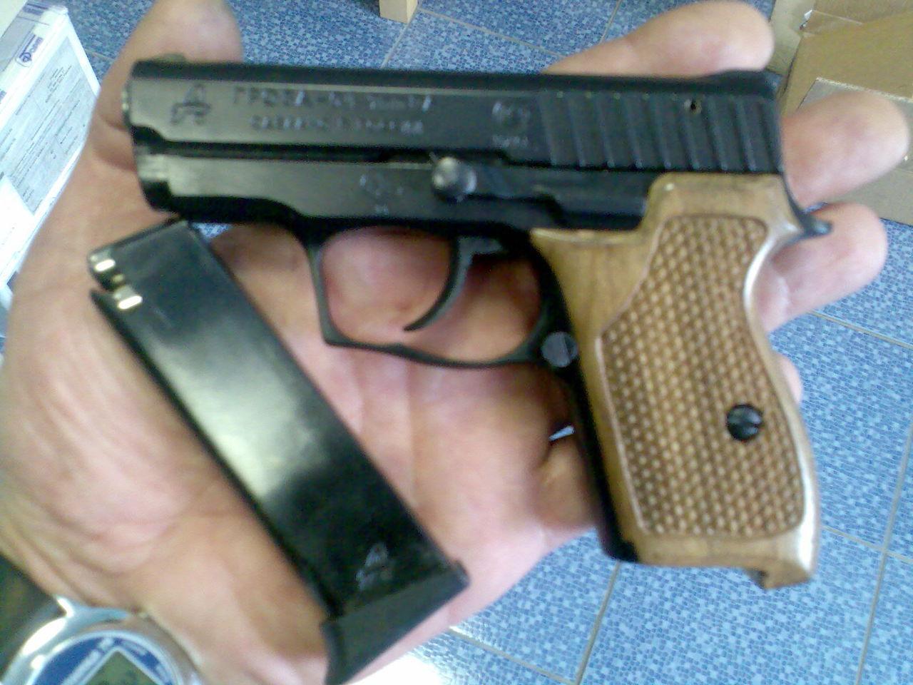 травматический пистолет гроза 03