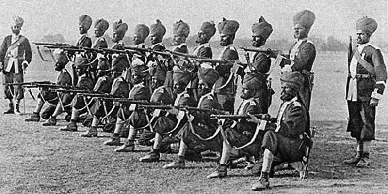 восстание сипаев в индии кратко