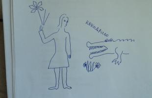 рисунок александра невского для 3 класса