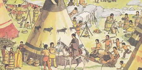 откуда появились индейцы в америке