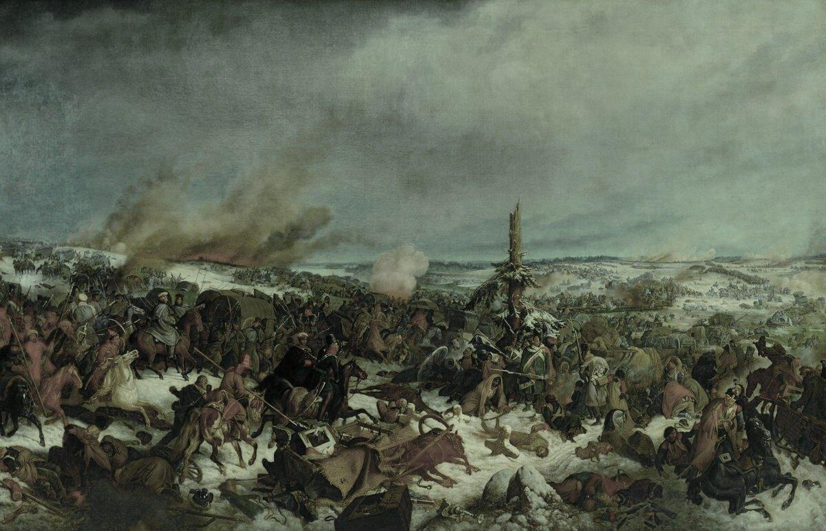 битва на реке березине