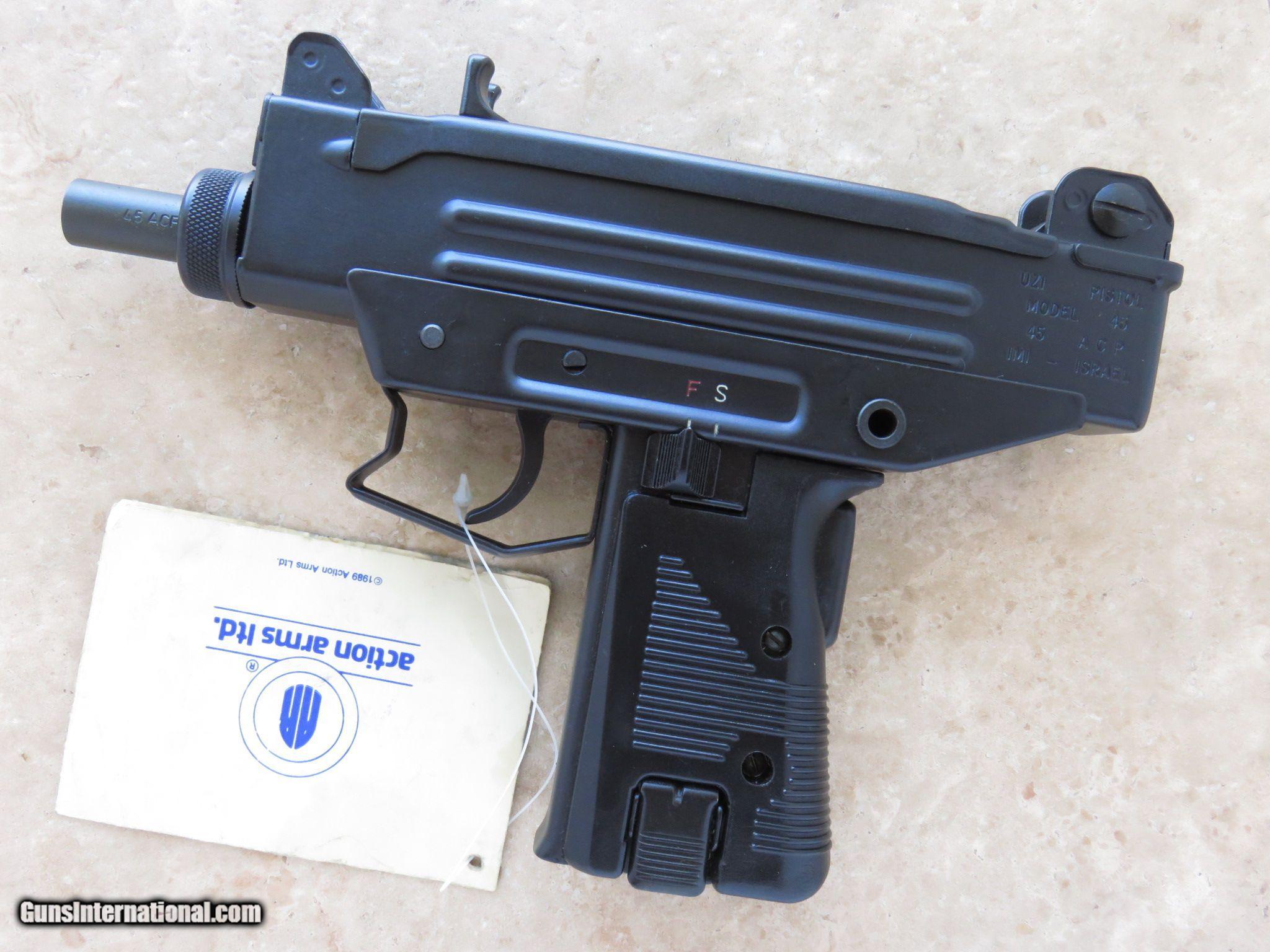 uzi пистолет пулемет
