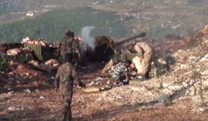 видео боев в сирии