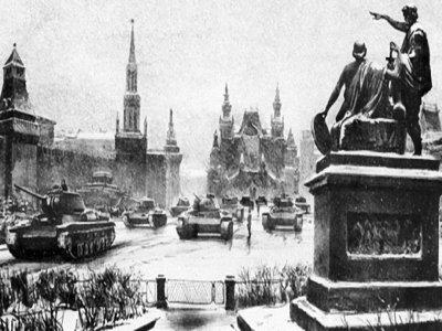 контрнаступление красной армии под москвой началось
