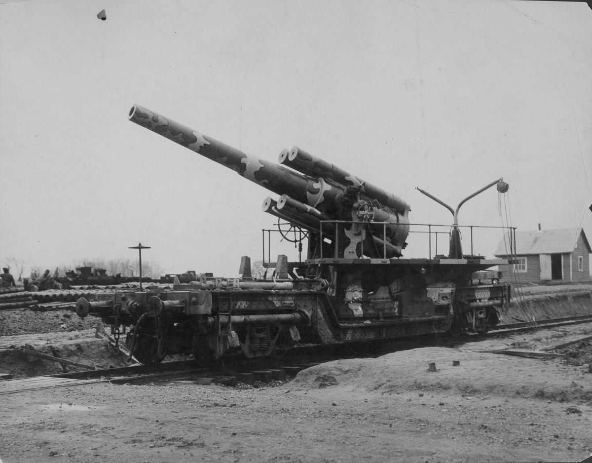 дора орудие германской армии