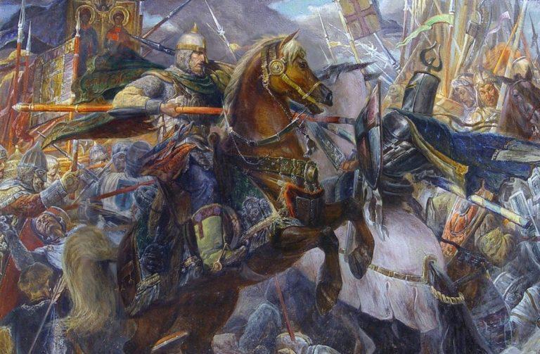 1240 год событие в истории россии