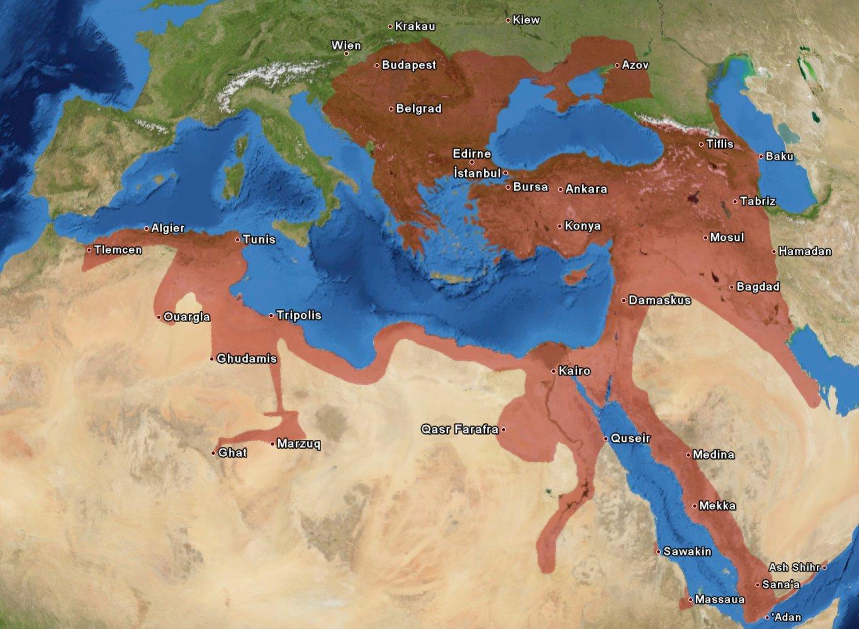 великие империи мира